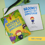 Personalized Pet Dinosaur Story Book-Personalized Gifts