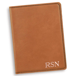 Personalized Rawhide Passport Holder-Personalized Gifts