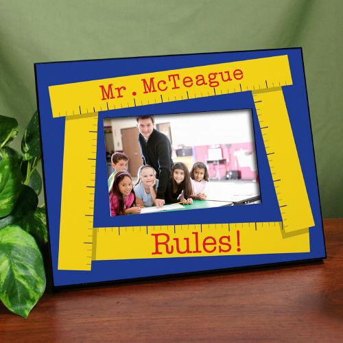 Personalized School Teacher Printed Frame-Personalized Gifts