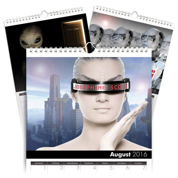 Personalized Sci-Fi Calendar-Personalized Gifts
