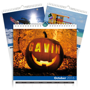 Personalized Seasons Calendar-Personalized Gifts