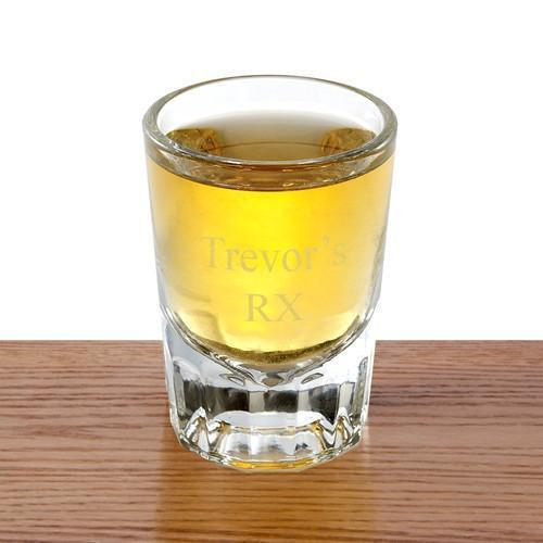 Personalized Shot Glasses - Distinction - 2 oz.-Personalized Gifts