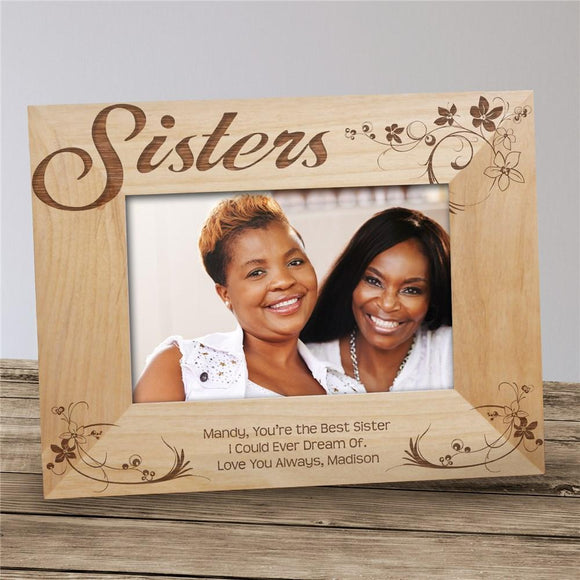 Personalized Sisters Picture Frame-Personalized Gifts
