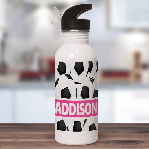 Personalized Soccer Water Bottle-Personalized Gifts