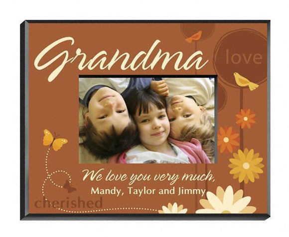 Personalized Springtime Celebration Frame - Grandma-Personalized Gifts