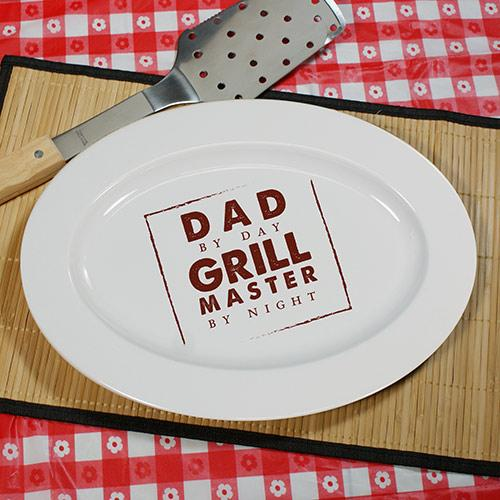Personalized Square Grill Master Platter-Personalized Gifts