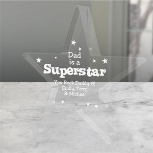 Personalized SuperStar Keepsake-Personalized Gifts