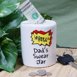 Personalized Swear Jar-Personalized Gifts
