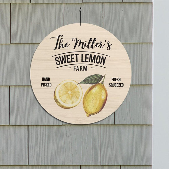 Personalized Sweet Lemon Farm 13