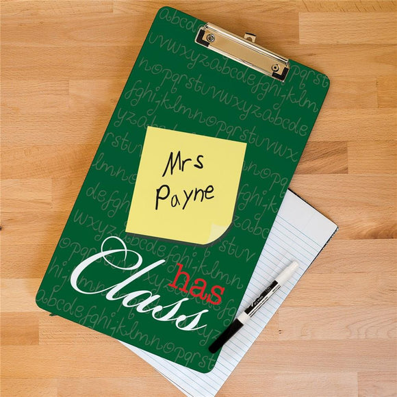 Personalized Teacher Clipboard-Personalized Gifts
