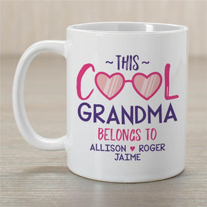 Personalized This Cool Grandma Belongs To Mug-Personalized Gifts