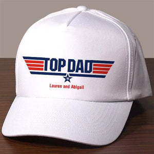 Personalized Top Dad Hat-Personalized Gifts