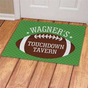 Personalized Touchdown Tavern Doormat-Personalized Gifts
