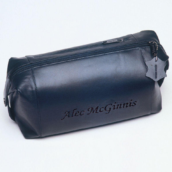 Personalized Travel Bag - Shaving Kit - Travel - Leather-Personalized Gifts