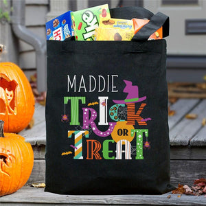 Personalized Trick Or Treat Bag-Personalized Gifts