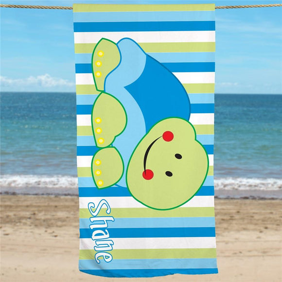 Personalized Turtle Beach Towel-Personalized Gifts