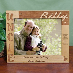 Personalized Uncle Photo Frame - 8x10-Personalized Gifts