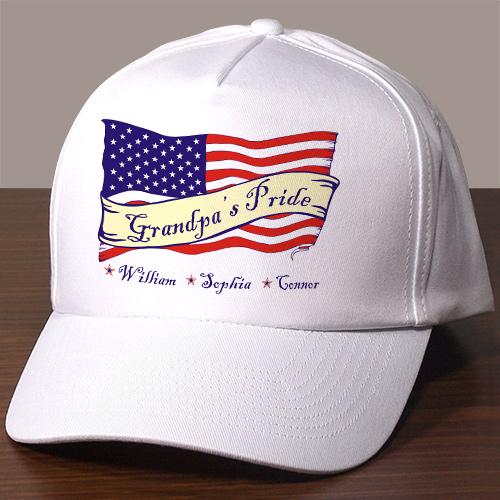 Personalized USA American Pride Hat-Personalized Gifts