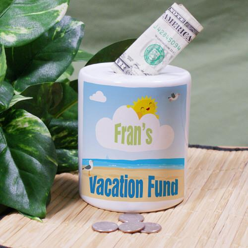 Personalized Vacation Fund Jar-Personalized Gifts