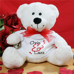 Personalized Valentine Teddy Bear-Personalized Gifts