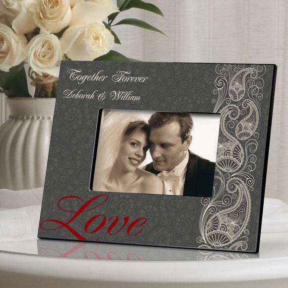 Personalized Valentine's Day Picture Frame-Personalized Gifts