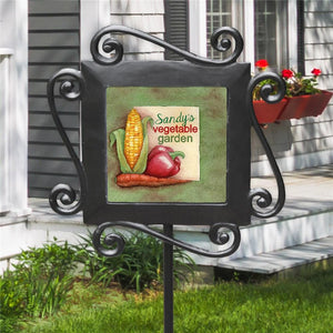 Personalized Vegetable Garden Stake-Personalized Gifts