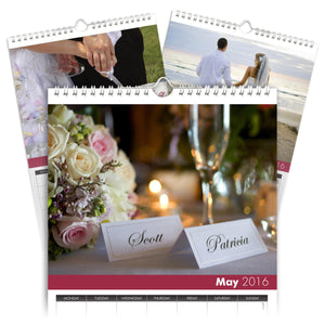Personalized Wedding Calendar-Personalized Gifts