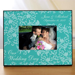 Personalized Wedding Day Picture Frame-Personalized Gifts