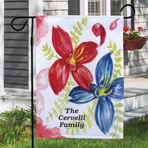 Personalized Welcome Garden Flag-Personalized Gifts