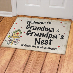 Personalized Welcome Grandma & Grandpa's-Personalized Gifts