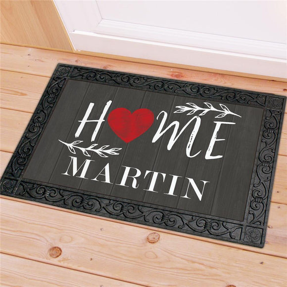 Personalized Welcome Home Doormat-Personalized Gifts
