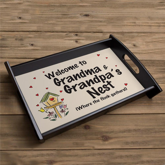 Personalized Welcome Serving Tray-Personalized Gifts