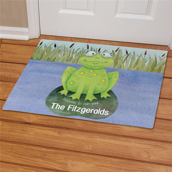 Personalized Welcome to Our Pad Doormat-Personalized Gifts