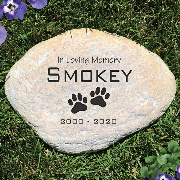 Pet Sympathy Garden Stone-Personalized Gifts