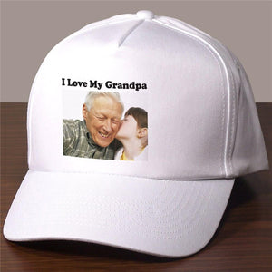 Picture Perfect Personalized Photo Hat-Personalized Gifts
