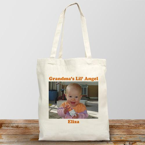 Picture Perfect Personalized Photo Tote Bag-Personalized Gifts