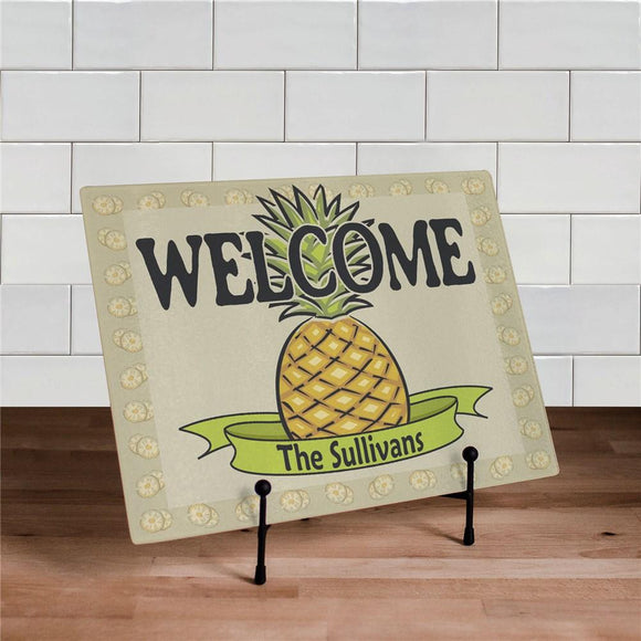 Pineapple Kitchen Cutting Board-Personalized Gifts