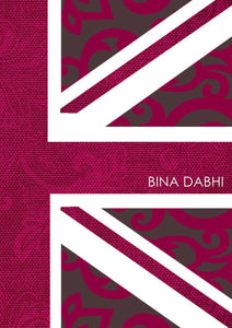 Pink Union Jack Notebook-Personalized Gifts