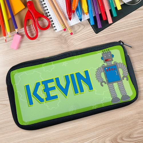 Robot Pencil case-Personalized Gifts