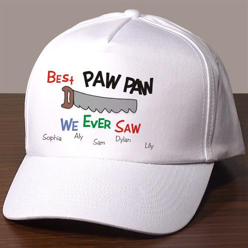 saw hat-Personalized Gifts