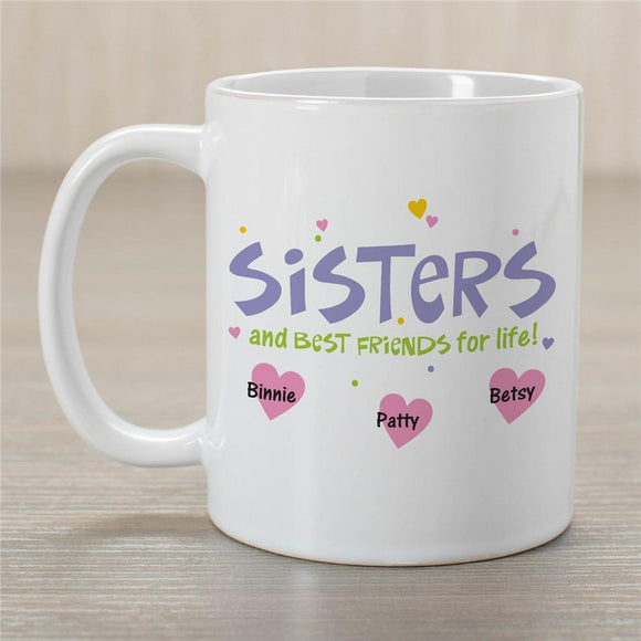 Sister Best Friend Mug-Personalized Gifts