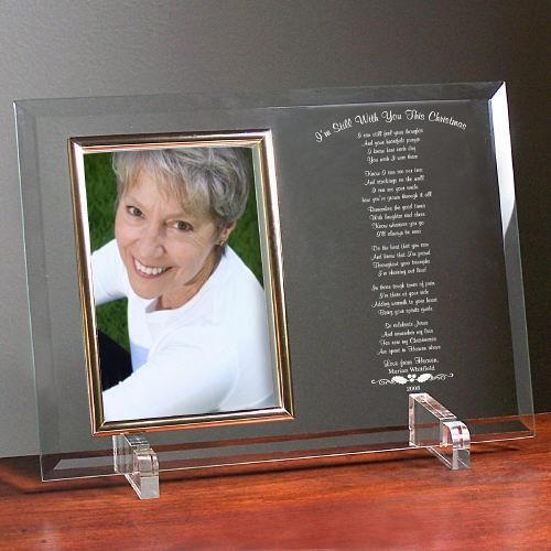 Still With You This Christmas Personalized Picture Frame-Personalized Gifts