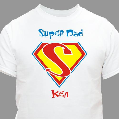 Super Dad T-Shirt-Personalized Gifts