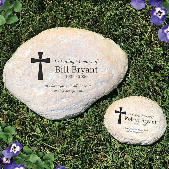 Sympathy Garden Stone-Personalized Gifts