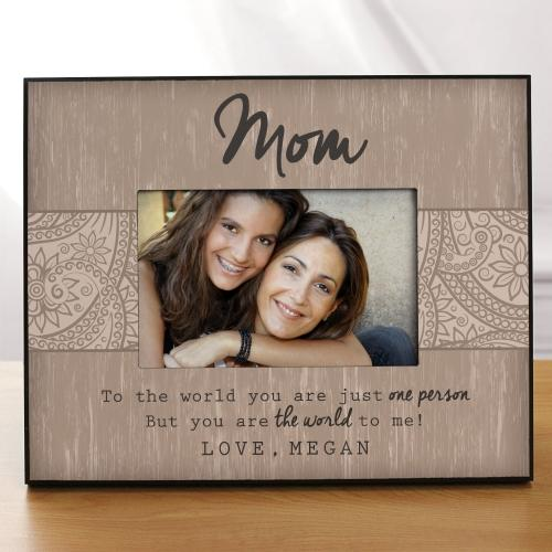 The World To Me Frame-Personalized Gifts