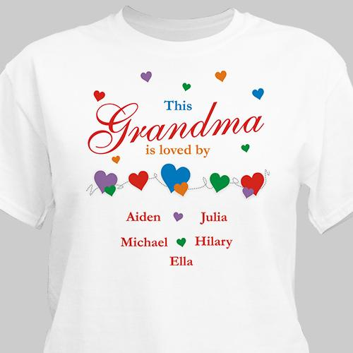 This Person Is Loved By Personalized T-Shirt-Personalized Gifts