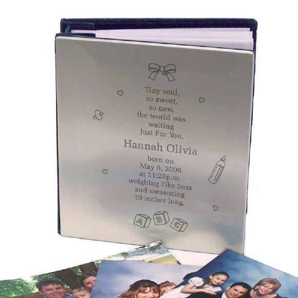 Tiny Soul New Baby Silver Album-Personalized Gifts