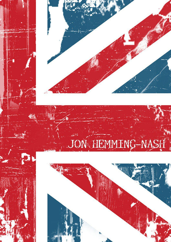 Union Jack Grunge Design Notebook-Personalized Gifts
