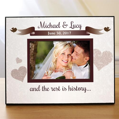 Wedding Printed Frame-Personalized Gifts