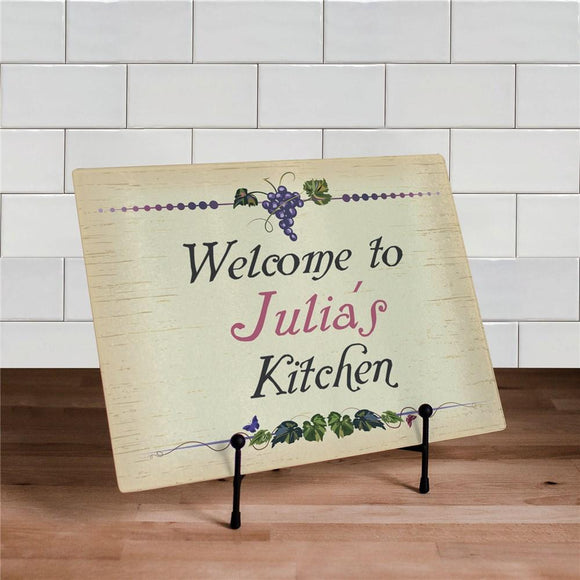 Winery Kitchen Personalized Cutting Board-Personalized Gifts